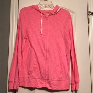 Lightweight Pink Sweatshirt
